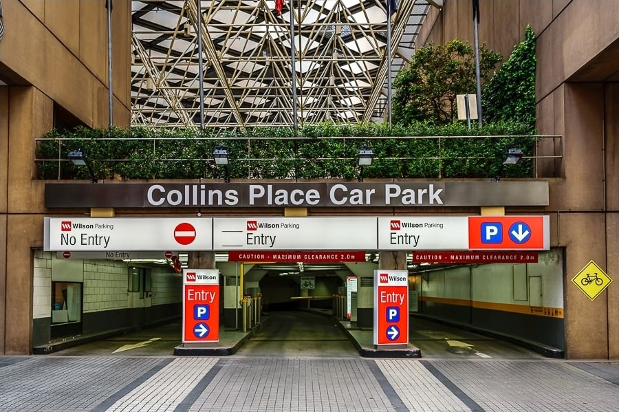 Collins Cosmetic Clinic - Car Park Entrance